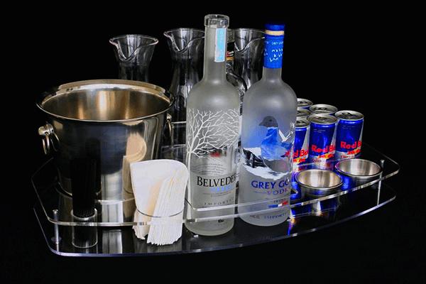 2 Premium Liquor Bottles