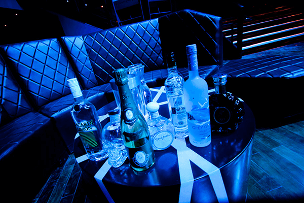 VIP Table 7 Premium Bottles @ Club Lacy's